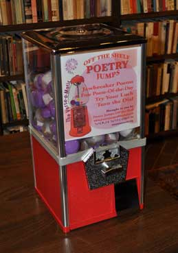 Verse-o-Matic poetry dispenser.